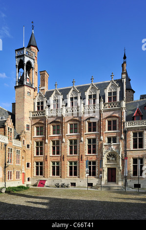 The Gruuthuse Museum in Bruges, Belgium - Stock Photo