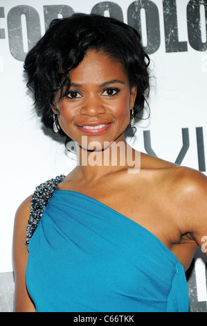 Kimberly Elise at arrivals for FOR COLORED GIRLS Premiere Screening, The Ziegfeld Theatre, New York, NY October - Stock Photo