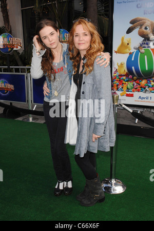 Lea Thompson, daughter at arrivals for HOP Premiere, Universal CityWalk, Los Angeles, CA March 27, 2011. Photo By: - Stock Photo
