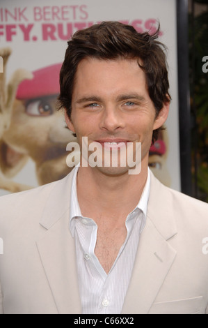 James Marsden at arrivals for HOP Premiere, Universal CityWalk, Los Angeles, CA March 27, 2011. Photo By: Michael - Stock Photo