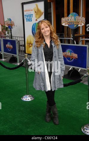 Lea Thompson at arrivals for HOP Premiere, Universal CityWalk, Los Angeles, CA March 27, 2011. Photo By: Michael - Stock Photo