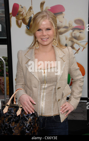 Crystal Hunt at arrivals for HOP Premiere, Universal CityWalk, Los Angeles, CA March 27, 2011. Photo By: Michael - Stock Photo
