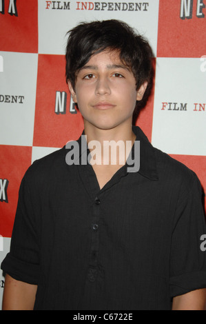 Lorenzo Henrie at arrivals for THE WHEELER BOYS Los Angeles Film Festival (LAFF) Screening, Regal Cinemas at L.A. - Stock Photo
