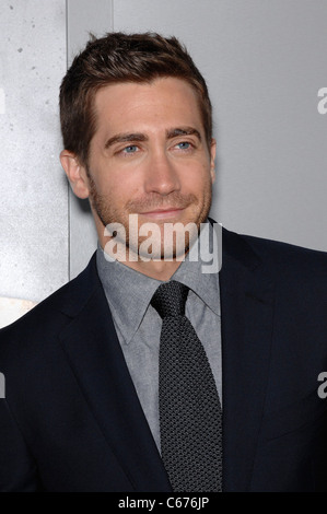 Jake Gyllenhaal at arrivals for SOURCE CODE Premiere, Arclight Cinerama Dome, Los Angeles, CA March 28, 2011. Photo - Stock Photo