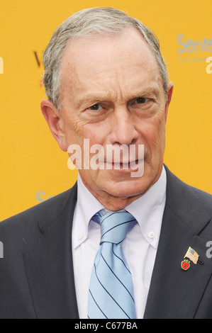New York City Mayor Michael Bloomberg in attendance for 3rd Annual Veuve Clicquot Polo Classic, Governor's Island, - Stock Photo