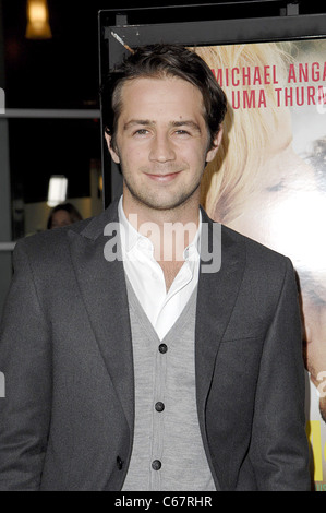 Michael Angarano at arrivals for CEREMONY Premiere, Arclight Hollywood, Los Angeles, CA March 22, 2011. Photo By: - Stock Photo