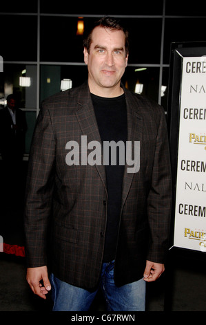 Rob Riggle at arrivals for CEREMONY Premiere, Arclight Hollywood, Los Angeles, CA March 22, 2011. Photo By: Michael - Stock Photo