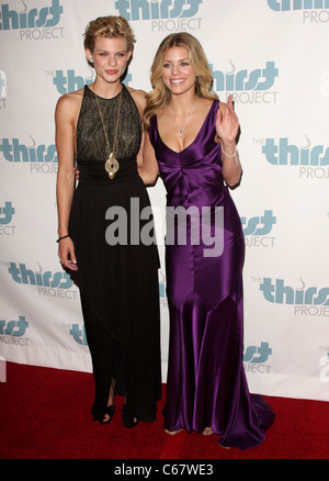 Angel McCord, AnnaLynne McCord at arrivals for The Inaugural Thirst Project Gala, Casa Del Mar, Los Angeles, CA - Stock Photo