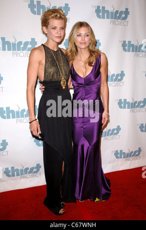 AnnaLynne McCord, Angel McCord at arrivals for The Inaugural Thirst Project Gala, Casa Del Mar, Los Angeles, CA - Stock Photo