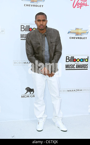 NAS at arrivals for 2011 Billboard Music Awards, MGM Grand Garden Arena, Las Vegas, NV May 22, 2011. Photo By: MORA/Everett - Stock Photo