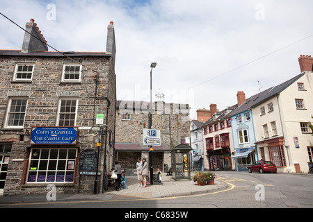 Cardigan High Street, West Wales. United Kingdom. Photo:Jeff Gilbert - Stock Photo