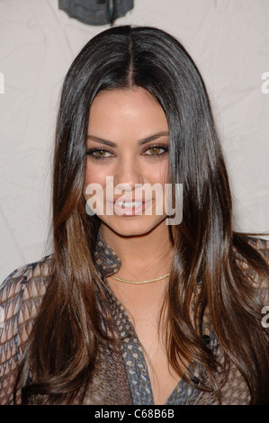 Mila Kunis at arrivals for Spike TV's 5th Annual Guys Choice Celebration, Sony Pictures Studios, Los Angeles, CA - Stock Photo