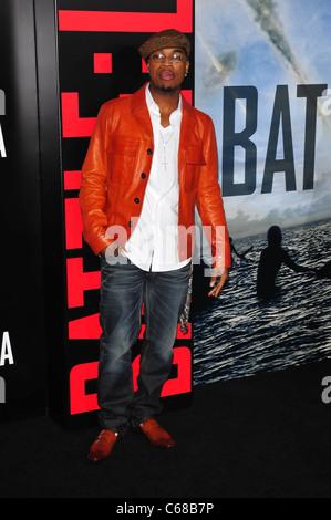 Ne-Yo at arrivals for BATTLE: LOS ANGELES Premiere, Regency Village Theater, Los Angeles, CA March 8, 2011. Photo - Stock Photo