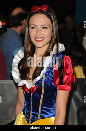 Italia Ricci at arrivals for MEGAMIND Premiere, Grauman's Chinese Theatre, Los Angeles, CA October 30, 2010. Photo - Stock Photo