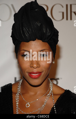 June Ambrose at arrivals for Keep A Child Alive Foundation's 7th Annual Black Ball, Hammerstein Ballroom, New York, - Stock Photo