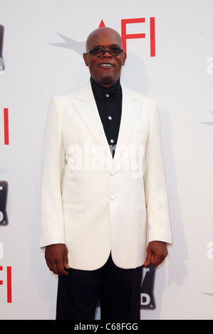 Samuel L. Jackson at arrivals for American Film Institute (AFI) 39th Life Achievement Award: A Tribute to Morgan - Stock Photo