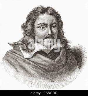 Gabriël Metsu, 1629 – 1667. Dutch painter. - Stock Photo
