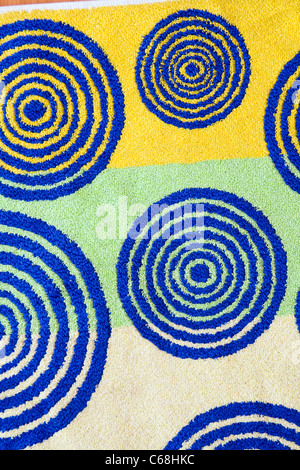 towel texture - Stock Photo