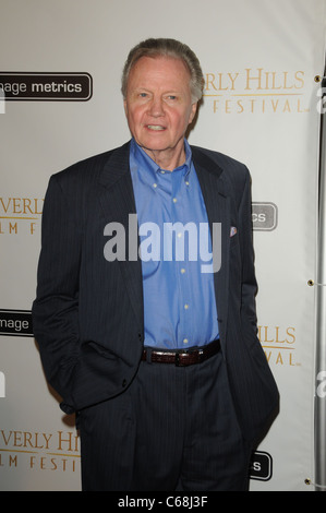 Jon Voight at arrivals for The 11th Annual Beverly Hills Film Festival Opening Night, Clarity Theater, Beverly Hills, - Stock Photo