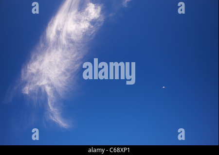 Boot shaped cloud - Stock Photo