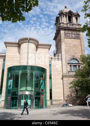 Laing Art Gallery New Bridge Street Newcastle upon Tyne - Stock Photo
