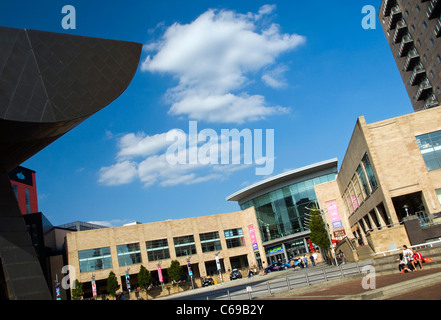 The entrance to the Lowry Outlet Mall in Salford Quays near Manchester in England - Stock Photo