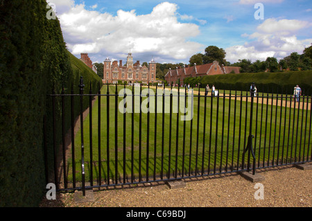 Blickling hall front - Stock Photo