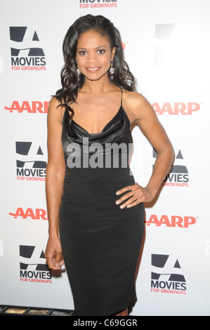 Kimberly Elise at arrivals for AARP The Magazine's 10th Annual Movies For Grownups Awards Gala, Beverly Wilshire - Stock Photo