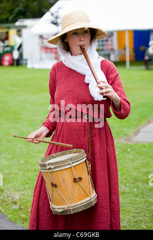 Medieval Festival in Verdin Park, Northwich August 13th & 14th, with Living History Camps, Cheshire, UK - Stock Photo