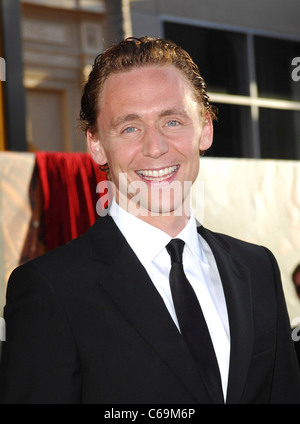 Tom Hiddleston at arrivals for THOR Premiere, El Capitan Theatre, Los Angeles, CA May 2, 2011. Photo By: Elizabeth - Stock Photo