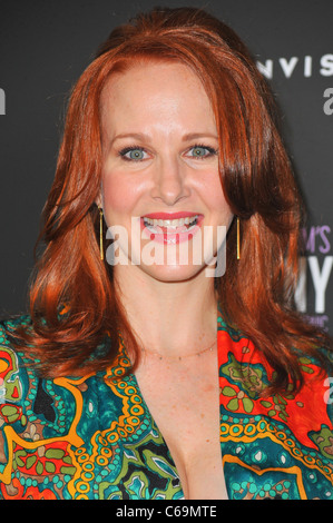 Katie Finneran at arrivals for Premiere Screening of Filmed Version of COMPANY Revival, NYIT Auditorium on Broadway, - Stock Photo