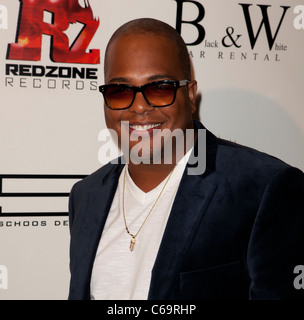 Tricky Stewart in attendance for Redzone Entertainment 2011 Grammy Nominations Party, Playhouse Hollywood, Los Angeles, - Stock Photo