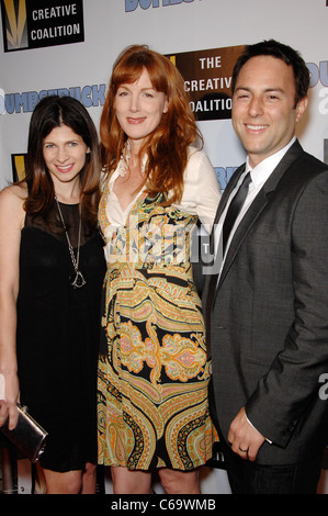 Lindsay Goffman, Bird York, Mark Goffman at arrivals for DUMBSTRUCK Premiere, The Egyptian Theatre, Los Angeles, - Stock Photo