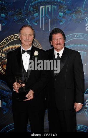Michael O'Shea, John C. Flinn in attendance for 25th Annual ASC Outstanding Achievement Awards, Hyatt Regency Century - Stock Photo