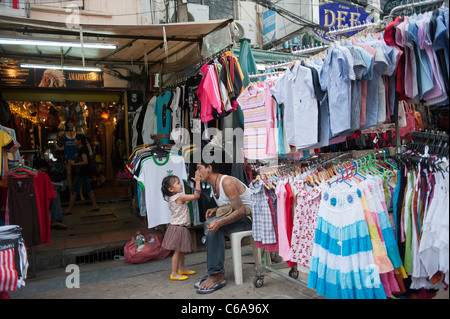 Khaosan Road Bangkok Thailand - Stock Photo