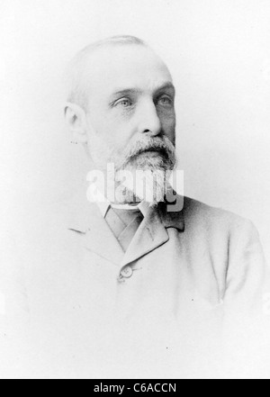 George Nicholson, A.L.S., Kew Gardens curator - Stock Photo