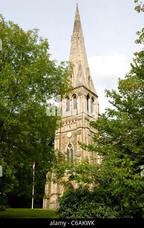 Saint Anne's Church, West Hill, Highgate, London, England - Stock Photo