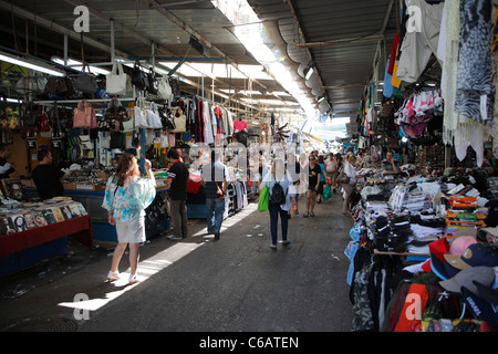 Market, Tel Aviv, Israel - Stock Photo