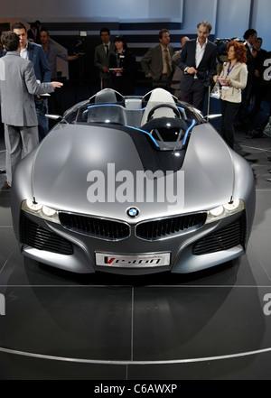 Bmw Vision Connecteddrive Concept Car At Geneva Motor Show 2011