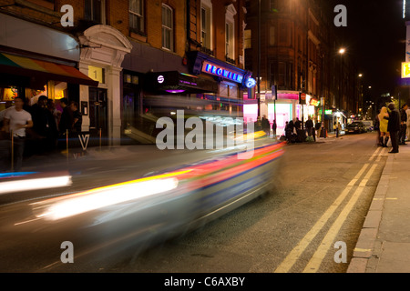 Night Life in Soho - Stock Photo