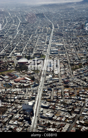 Aerial view in Chihuahua, Mexico - Stock Photo