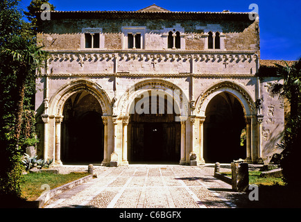 The Abbey of San Clemente a Casauria - Stock Photo