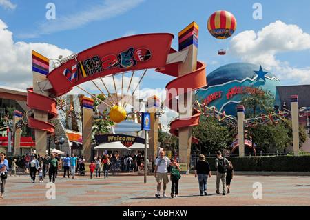 Disney Village. Disneyland Paris. - Stock Photo