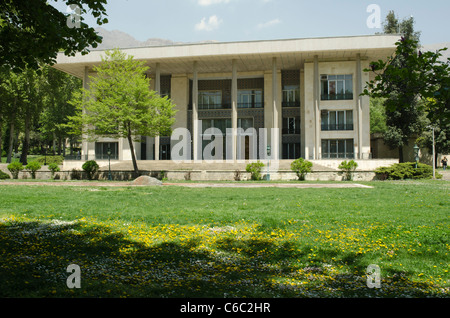 The main Niavaran Palace,  was the primary residence of the last Shah of Iran, Mohammad Reza Pahlavi and the his - Stock Photo