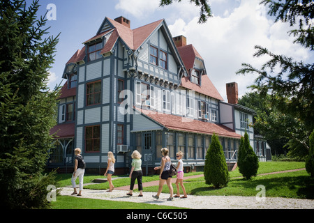 Emlen Physick Estate, Cape May, New Jersey - Stock Photo