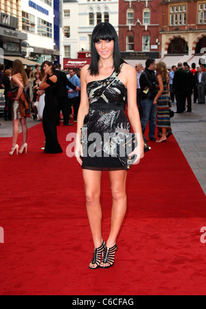 Linzi Stoppard 'The Expendables' - UK film premiere held at the Odeon Leicester Square - Arrivals London, England - Stock Photo