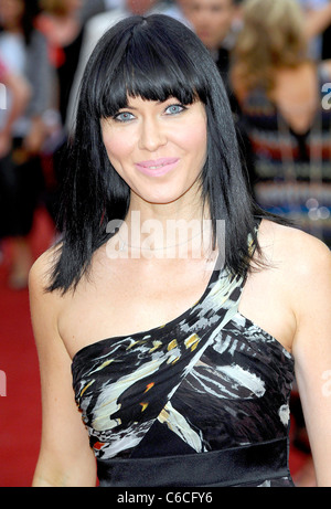 Linzi Stoppard The Expendables - UK film premiere held at the Odeon Leicester Square - Arrivals. London, England - Stock Photo