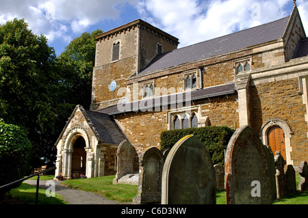 St. Thomas a Becket Church, Tugby, Leicestershire, England, UK - Stock Photo