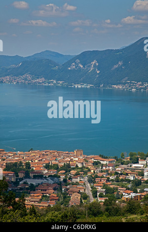 Lake Iseo, Italy - Stock Photo