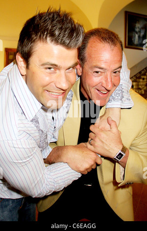 Six Pack and Michael Lohan Charity boxing event 'Hassle at the Castle' at Oheka Castle in Huntington Long Island, - Stock Photo